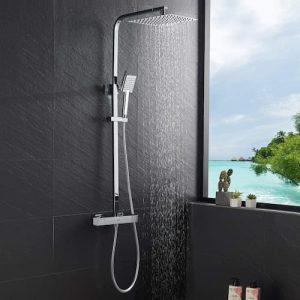 columna de ducha termostática
