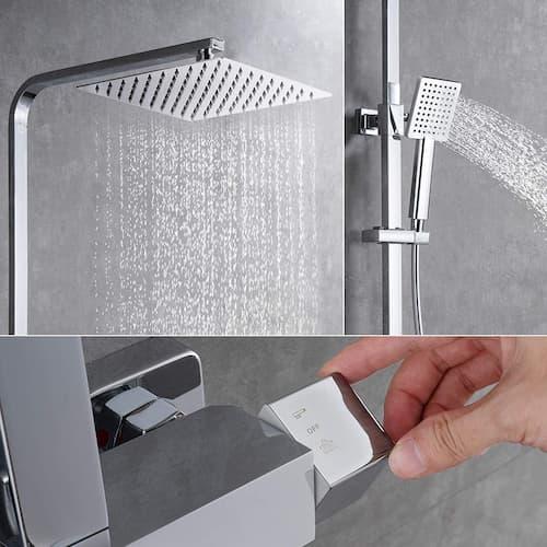 conjunto de ducha termostatica
